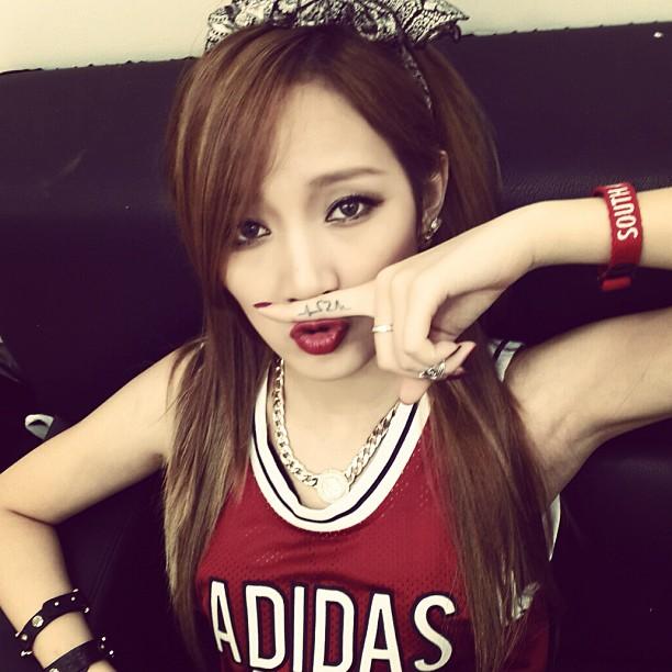 Hyuna Leg Tattoo